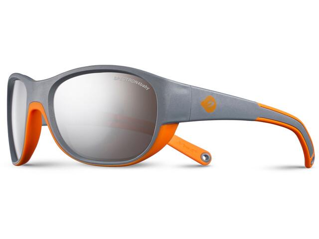 Julbo Luky Spectron 4 Sunglasses 4-6Y Kids gray/orange-gray flash silver